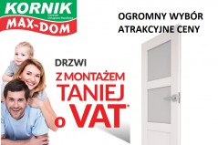 drzwi bez vat